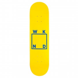 WKND WKND Brand Logo deck yellow blue 8""