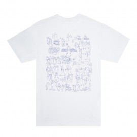 Fucking Awesome Fucking Awesome Regions tee S/S white