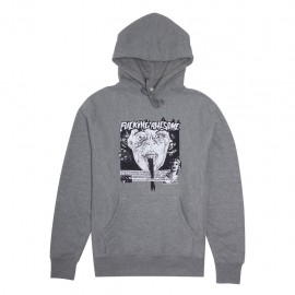 Fucking Awesome Fucking Awesome Face Reality hoodie heather grey