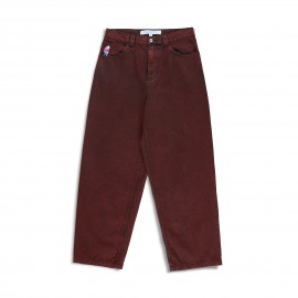 Polar Polar Big Boy Jeans pant red black