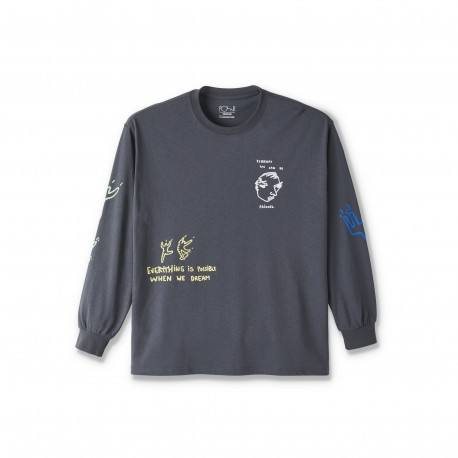 Polar Polar Notebook tee L/S black