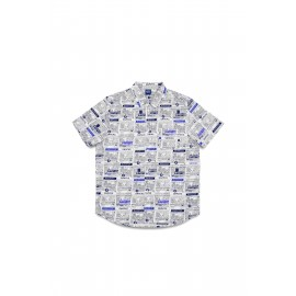 Quartersnacks Quartersnacks Vendor shirt button up white