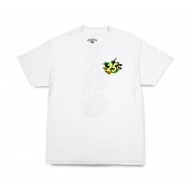Quartersnacks Quartersnacks Botanical Snackman tee white
