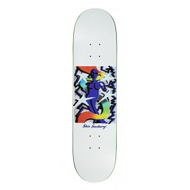 Polar Polar Shin Sanbongi deck Queen white 7.875""