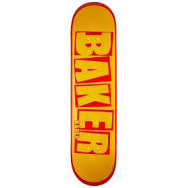 Baker Baker Kader Sylla deck Brand Name yellow red 7.875""