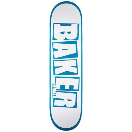 Baker Baker Bryan Herman deck Brand Name white blue 8""
