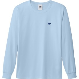 Adidas Adidas Shmoo tee L/S ice blue royal blue