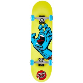 Santa Cruz Santa Cruz Screaming Hand Mini complete yellow 7.75""