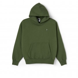 Polar Polar Patch hoodie hunter green
