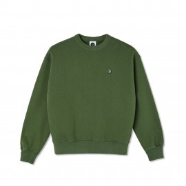 Polar Polar Patch crewneck hunter green