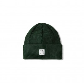 Polar Polar Double Fold Merino beanie hunter green
