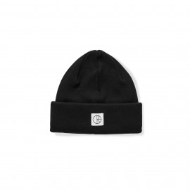 Polar Polar Double Fold beanie black