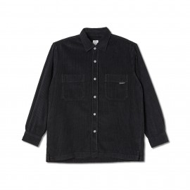 Polar Polar Cord Shirt L/S black