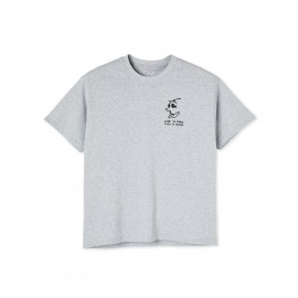 Polar Polar Cash Is Queen tee S/S sport grey