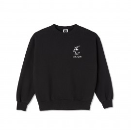 Polar Polar Cash Is Queen crewneck black