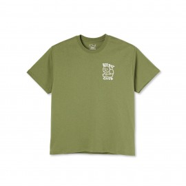 Polar Polar Big Boy Club tee S/S khaki