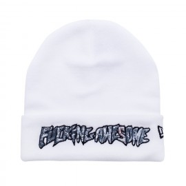 Fucking Awesome Fucking Awesome Actual Visual Guidance New Era beanie white