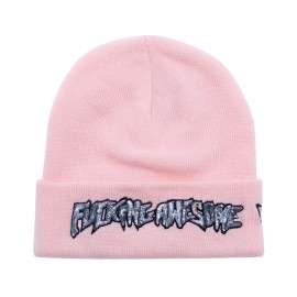 Fucking Awesome Fucking Awesome Actual Visual Guidance New Era beanie light pink