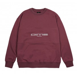 Dime Mtl Dime Montreal French Terry crewneck burgundy