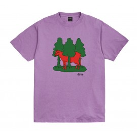 Dime Mtl Dime Forest Cow tee S/S lavender