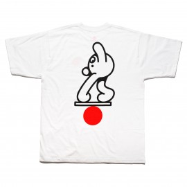 Free James Jarvis Equilibrium tee S/S white