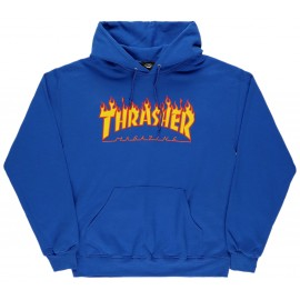Thrasher Thrasher Flame hood royal