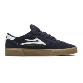 Lakai Lakai Cambridge shoes navy white suede