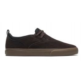 Lakai Lakai Riley Hawk shoes chocolate gum suede