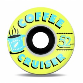 Small Coffee cruiser wheels Golden Hour yellow 78A 52mm