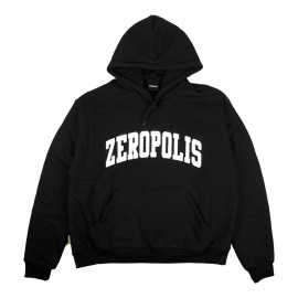 Zeropolis Zeropolis League Logo hoodie black white
