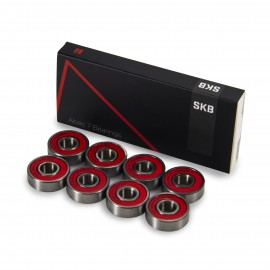 SKB Hardware SKB Abec 7 bearings silver red