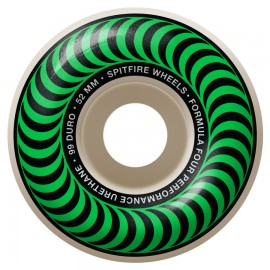 Spitfire Spitfire Classics wheels Formula Four 99D 52mm
