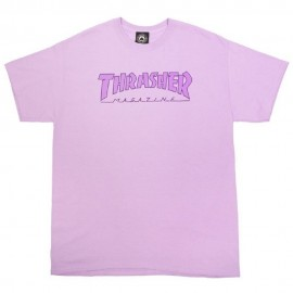 Thrasher Thrasher Outlined tee S/S orchid
