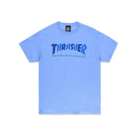 Thrasher Thrasher Checkers tee S/S carolina blue