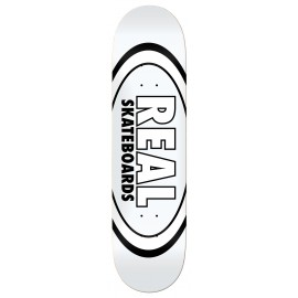 """Real Real Team Classic Oval deck white 8.38"""""""