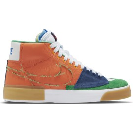 Nike SB Nike SB Blazer Mid Edge safety orange lucky green
