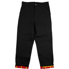 Hockey Hockey X Carhartt Double Knee Denim pant black