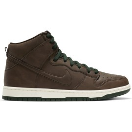 Nike SB Nike SB Dunk High Pro Vegan baroque brown baroque brown sail fir