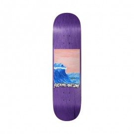 """Fucking Awesome Fucking Awesome Wave Painting deck 8.25"""""""