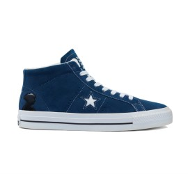 Converse Converse One Star Mid Pro Ben Raemers navy white