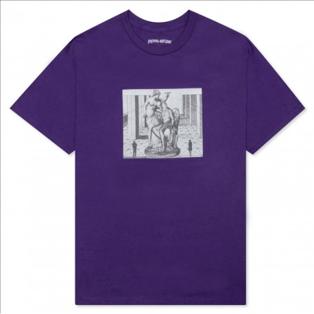 Fucking Awesome Fucking Awesome Perspective Statue tee S/S purple