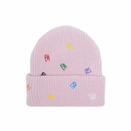 Fucking Awesome Fucking Awesome Scattered Cuff beanie light pink
